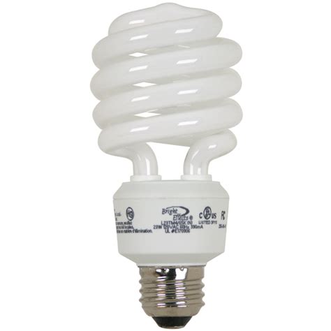 shop bright effects 4 pack 23 watt daylight cfl bulb at