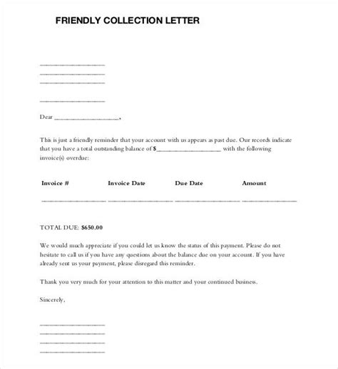 3rd letter late payment template to customer 49 friendly letter templates pdf doc free premium