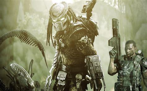 aliens  predator game wallpapers hd wallpapers id