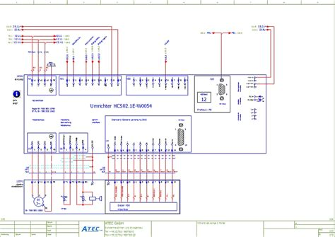 E Plan Electrical Drawing Image by Otomasyona Genel Bakış Atec Sondermaschinen Und
