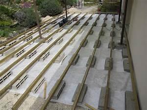 les 25 meilleures idees concernant jardin de parpaings sur With construction terrasse en bois sur parpaing