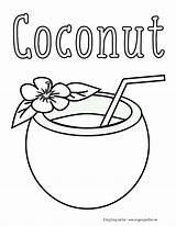 Coloring Drinks Popular sketch template