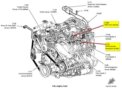 Ford Explorer 4 0 Engine Diagram by Ford Explorer 4 0 1994 Auto Images And Specification