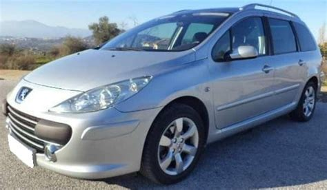 peugeot  sw  hdi  seater estate cars