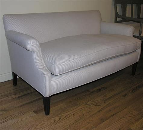 Settee Legs by Upholstered Settee With Mahogany Legs At 1stdibs