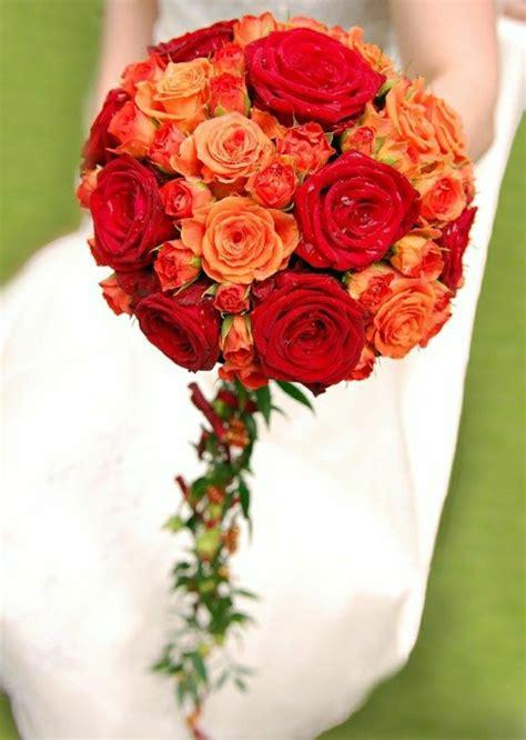 runder brautstrauss die wahl der romantischen maedchen