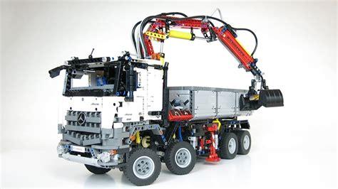lego technic mercedes lego technic 42043 mercedes arocs 3245 demo