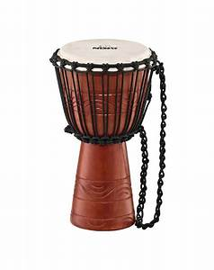 Meinl Nino African Style Rope Tuned Djembe  Water Rhythm