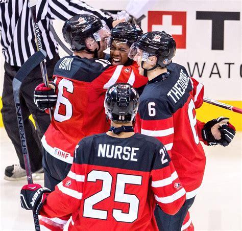 Slovākija pārsteidz zviedrus; Pasaules čempioni - Kanāda | Hokeja Blogs