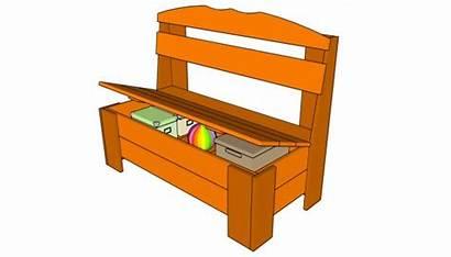 Bench Plans Storage Outdoor Wood Diy Woodworking