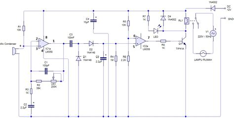 catatan sederhana dhany elektronika rangkaian sensor suhu catatan sederhana dhany elektronika rangkaian saklar lu dengan sensor suara tepuk