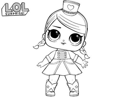 lol surprise dolls coloring pages print      series