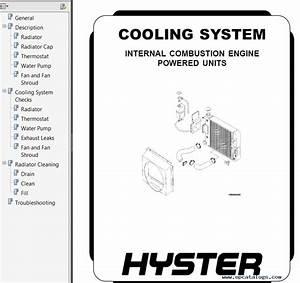 Hyster Class 5 For G005 Engine Trucks Pdf Repair Manual