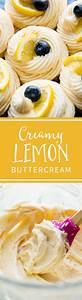 Tangy, Sweet, And, Creamy, Lemon, Buttercream, Frosting, Tastes