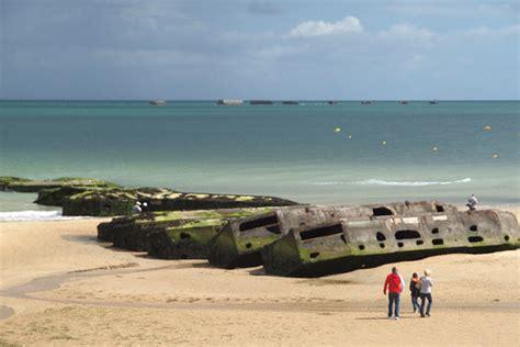 Carte De Plage Normandie by Caen Plage Du D 233 Barquement 187 Vacances Arts Guides Voyages
