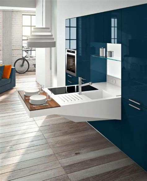 Smart And Elegant Compact Kitchen For Small Spaces  Digsdigs