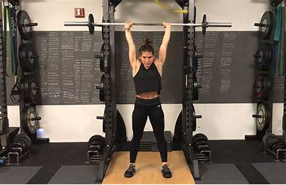 Overhead Press Exercises Strength Weightlifting Build Lifting