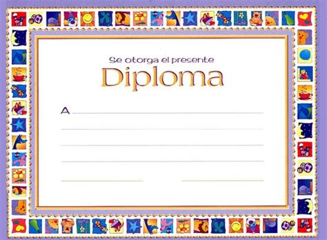 aprender jugando diplomas  graduaciones