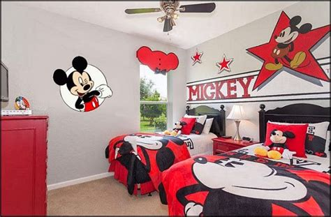 Mickey Mouse Bedroom Ideas by Decorating Theme Bedrooms Maries Manor Mickey Mouse