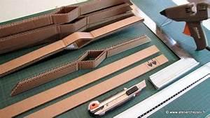 Fabriquer Un Sapin De Noel En Carton : fabrique un grand sapin de no l en carton fiche cr ative ~ Nature-et-papiers.com Idées de Décoration