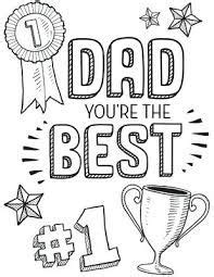 fathers day coloring pages pinterest
