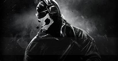 Ghost Duty Call Cod Wallpapers Desktop Ghosts