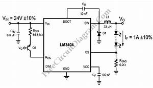 lm3404 constant ripple led driver circuit diagram world With led driver circuit schematic