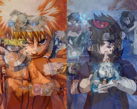 Naruto Vs. Sasuke Wallpaper By Samaster14 On Deviantart