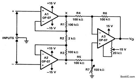 highinputimpedancedifferentialamplifier amplifier