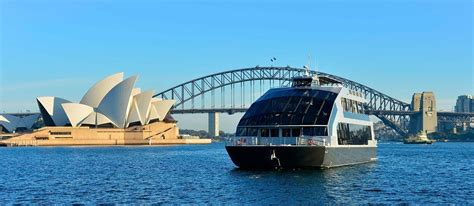Glass Boat Sydney Harbour Cruise sydney harbour glass boat dining charter cruises