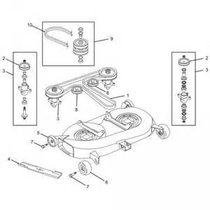 Yardman Mower Deck Belt Diagram by Small Engine Equipment Parts Cub Cadet Lt1000 Slt1500