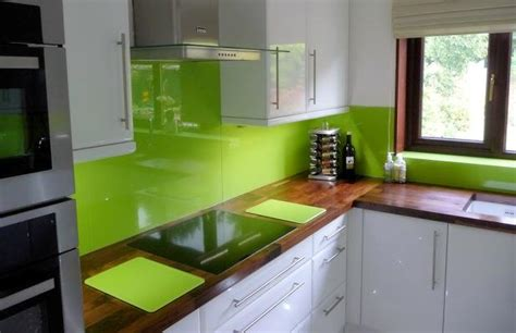 lime green splashback kitchen the complete glass service in cardiff newport and the 7110