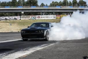 2015 Hellcat Dodge Challenger Burnout