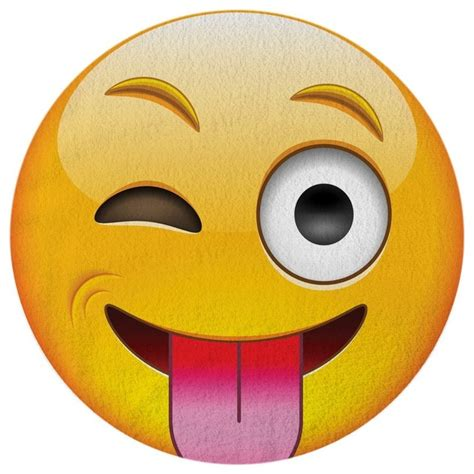Funny Sofas by Shop Houzz Round Towel Co Winky Face Emoji Towel Round