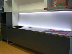 Arbeitsplatte Küche 65 Cm Tief : k chenzeile design k che schwebend blanco 280cm 65cm edelstahl arbeitsplatte ebay ~ Markanthonyermac.com Haus und Dekorationen