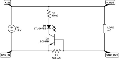 Short Circuit Simple High Current Alarm Using Transistor