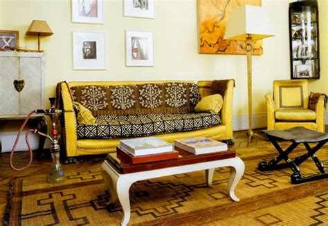 Warm Colors For A Living Room by Bright Interiors In African Style Home Interior Design