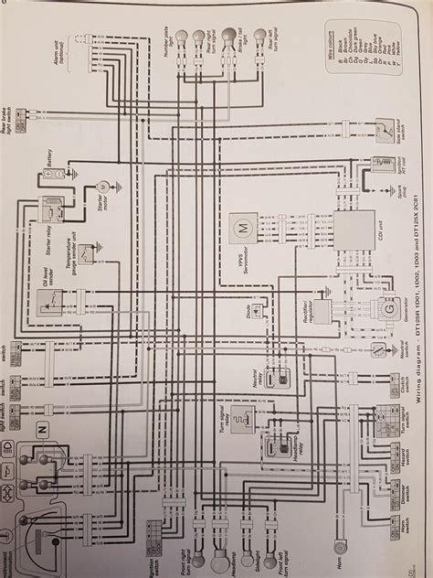 Yamaha Dt 100 Dt175 Enduro Motorcycle Wiring Schematic Diagram by Wiring Diagram Yamaha Dt 125 Wiring Library