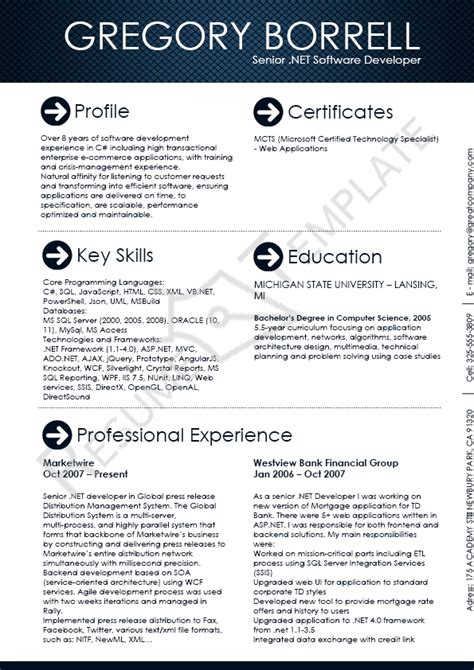 Software Architect Resume Template by 1000 Images About Resume On