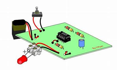 Astable 555 Circuit Examples Dia Technologystudent