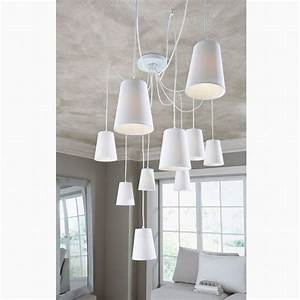 modern fashion large hanging living room chandelier diy With white lamp shade for modern room