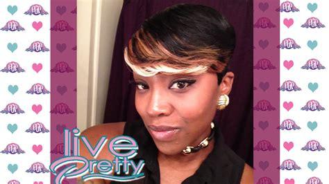 Pixie Cut Quick Weave {tara 2,4,6 Hair}