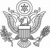 Coloring Seal President States United Flag Presidents Drawing Dc Government Colouring Washington Sketch Template Vice Guatemala Wa Paschal Candle Popular sketch template