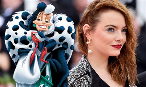 Filtran las nuevas fotos de Emma Stone como Cruella de Vil