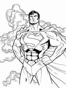 Superman And Batman Coloring Pages Getcoloringpagescom