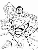 Superman Coloring Pages Lego Superheroes sketch template