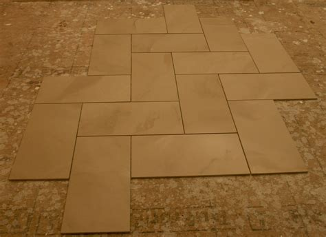 tile flooring options 12x24 tile patterns floor pattern options vote for your favorite diy pinterest 12x24