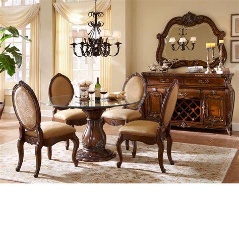 dining room sets michael amini lavelle melange finish table dining
