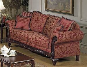 Tapestry sofa living room furniture living room for Tapestry sofa living room furniture