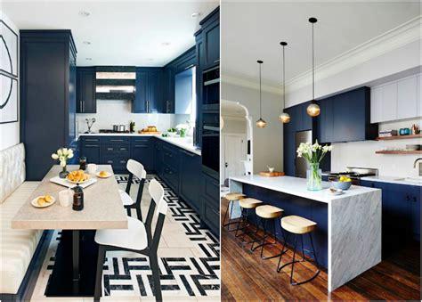 cuisine blanche et bleu cuisine bleu gris canard ou bleu marine code couleur et